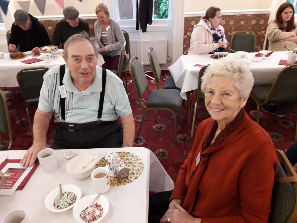 Christmas activities at Dementia Cafe