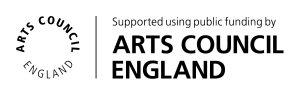 Logo for Arts Council England funding
