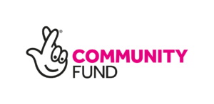 Logo for the National Lottery Community Fund