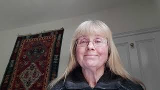 Screenshot of Sarah O'Grady in her mindfulness video
