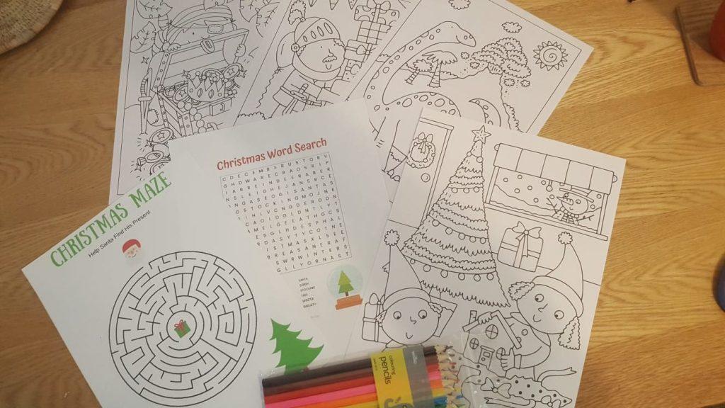 photo of Christmas craft activities