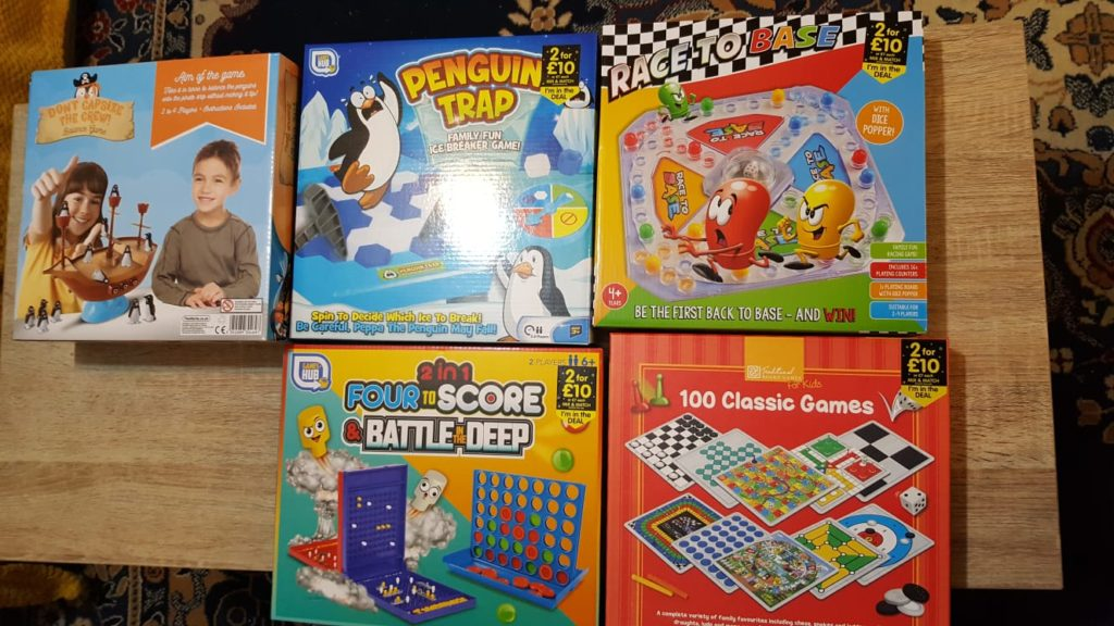 photo of games for hampers
