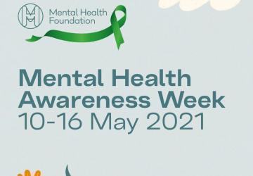 Mental Health Awareness Week 2021 graphic